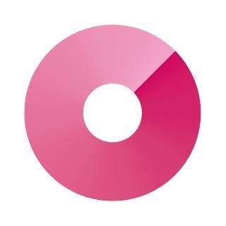 pink marketing logo