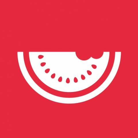 Red melon logo