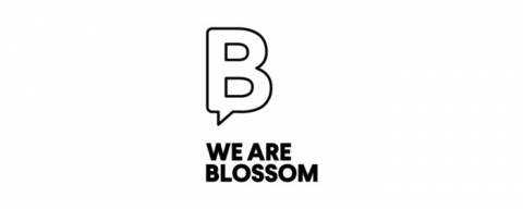 we are blossom logo