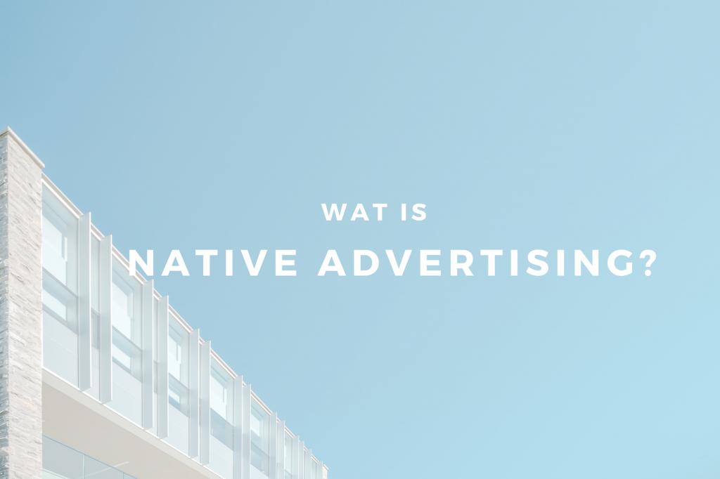 kennisbank Native advertising